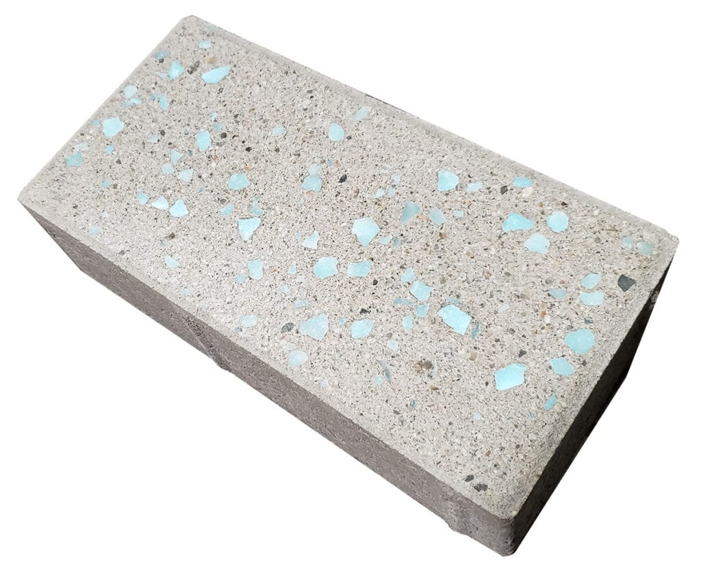 Pewter colored Glow Path Paver