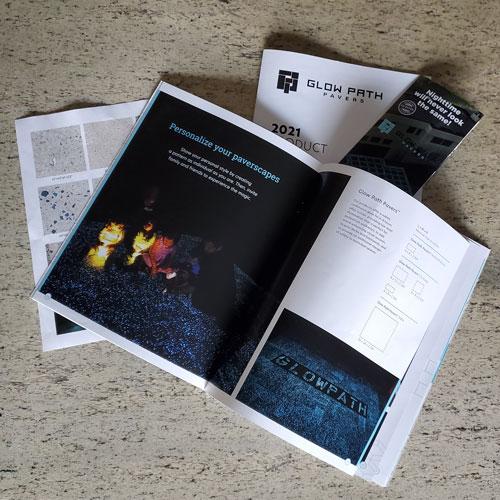 Glow Path Pavers Printed Material